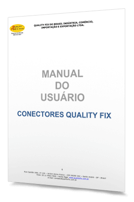 Quality Fix - Manual do Usuário Conectores