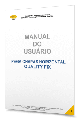 Quality Fix - Manual do Usuário Pega Chapas