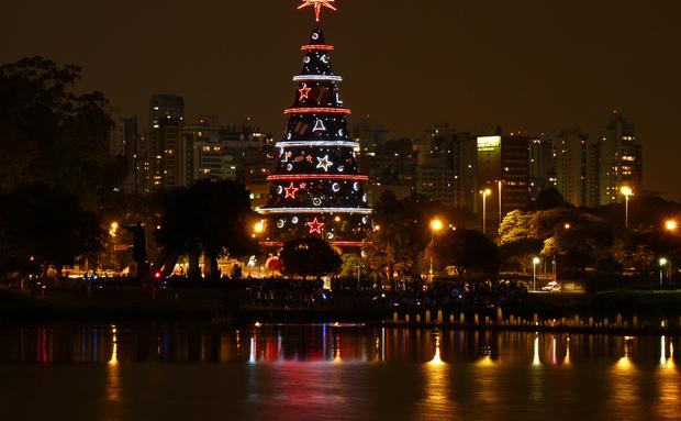 Árvore de Natal - Parque Ibirapuera