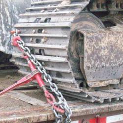 Tensionadores de corrente para amarração de cargas