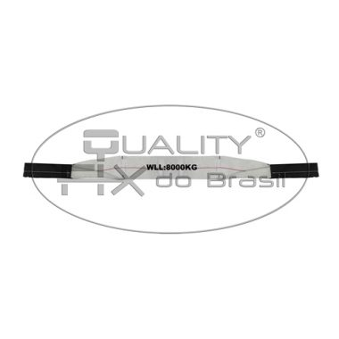 Cinta de Elevação Sling Quadruplo Branco 100mm - Quality Fix