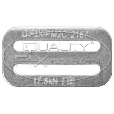 Passador Macho com 2 Canais - Quality Fix