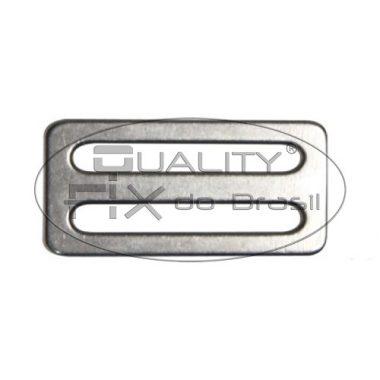 Passador Macho Inox com 2 Canais - Quality Fix