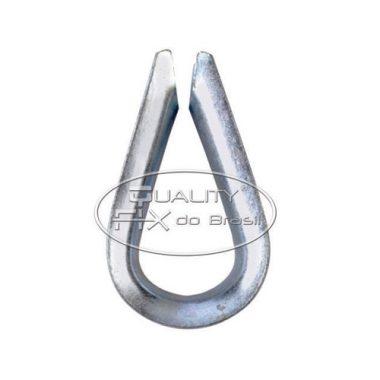 Sapatilha Leve de Aço Estampado - Quality Fix