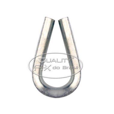 Sapatilha Pesada de Aço Estampado - Quality Fix