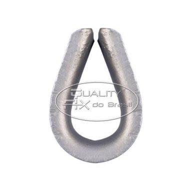 Sapatilha Pesada de Aço Forjado - Quality Fix