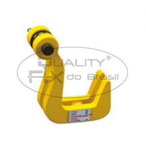 Pega Chapas Horizontal Gancho Duplo - Quality Fix