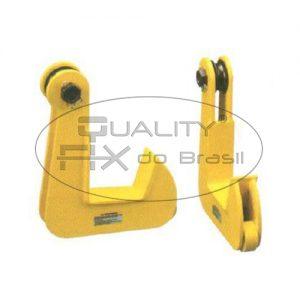 Pega Chapas Horizontal Gancho Simples - Quality Fix