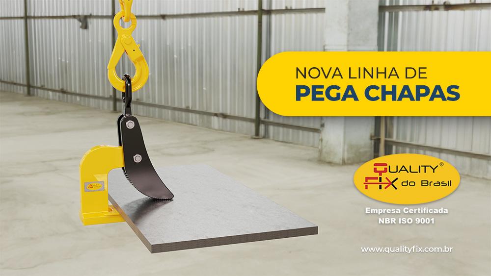 Nova linha Pega Chapas Quality Fix